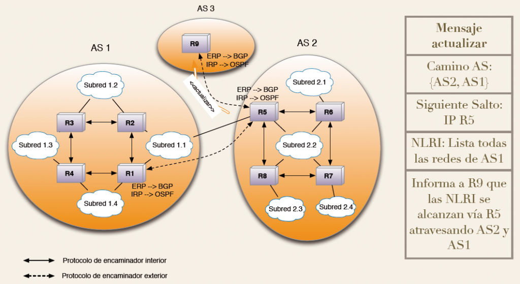 Grafico Algoritmo BGP